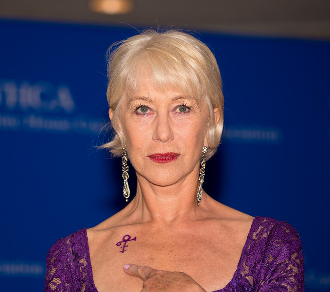 Helen Mirren, Prince, White House Correspondents Dinner