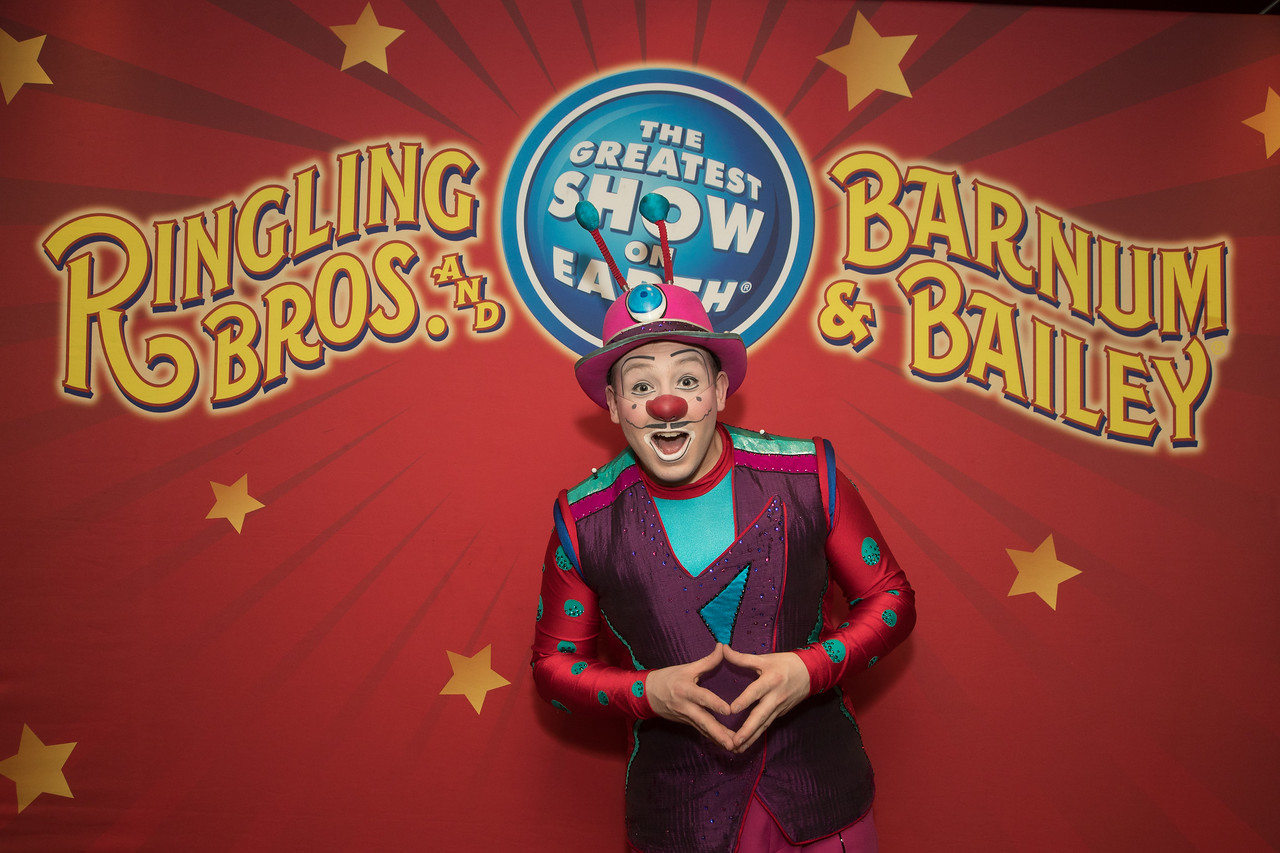 Victor Rossi, Ringling Bros. and Barnum & Bailey Circus