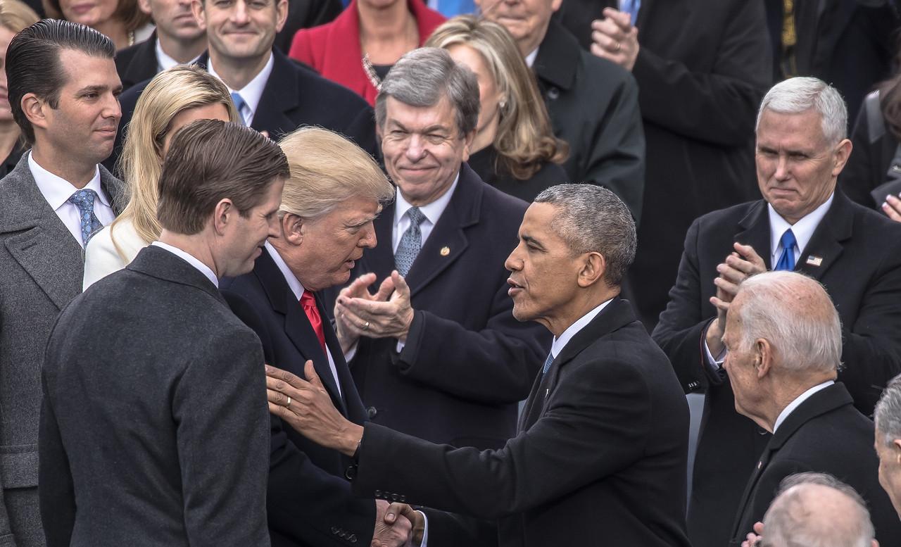 Donald Trump, Inauguration, Barack Obama