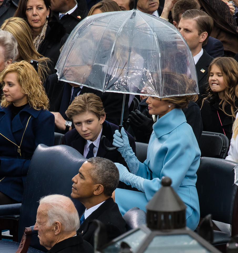 Donald Trump, Inauguration