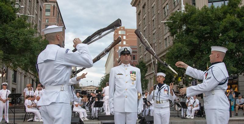 Navy Ceremonial Guard Drill Team