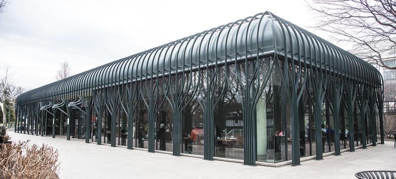National Gallery of Art Sculpture Garden Pavilion Cafe