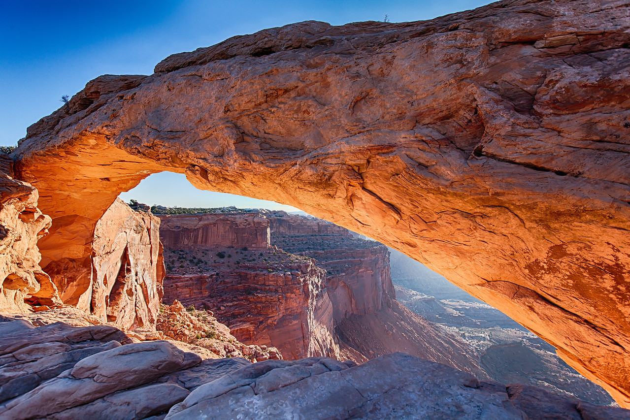 Mesa Arch - Arches National Park, Moab Utah<br /> Copyright 2014 - Thorpeland Photography