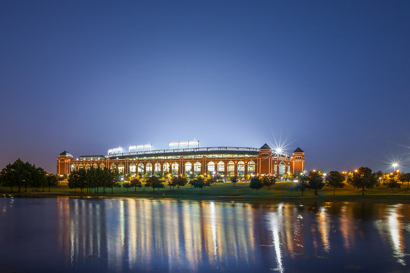 The Ballpark in Arlington Texas