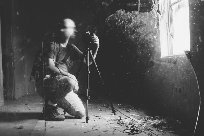 Self Portrait - Abandoned House
