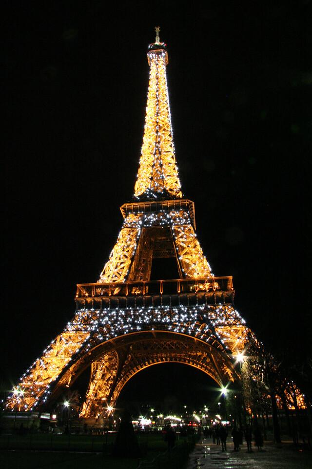 Eiffel Tower, Paris, France - December 2007