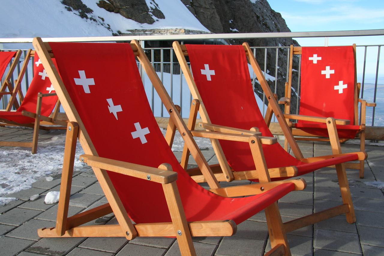 Mt. Pilatus, Lucerne, Switzerland - January 2008