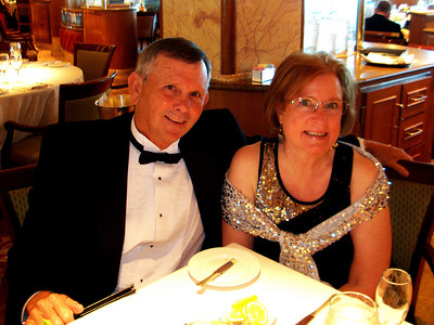Formal night on the Crown Princess