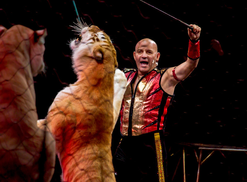 "The Ringling Bros. and Barnum & Bailey Circus presented ""Fully Charged"" at the Verizon Center in Washington DC with shows on March 15-18, 2012. After the DC run, the show moves on to Baltimore, Md., and then Fairfax, Va., in April"