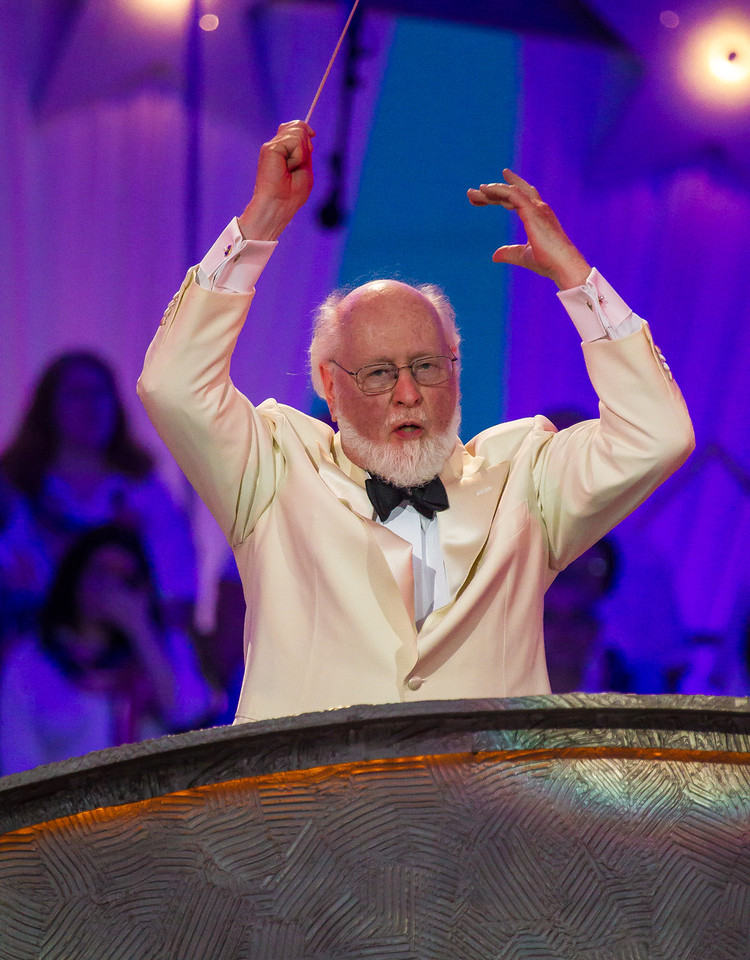 "John Williams Conducts Olympic Fanfare and Theme at the ""Capitol Fourth"" concert broadcast by PBS from the West Lawn of the US Capitol. (July 4, 2012)"
