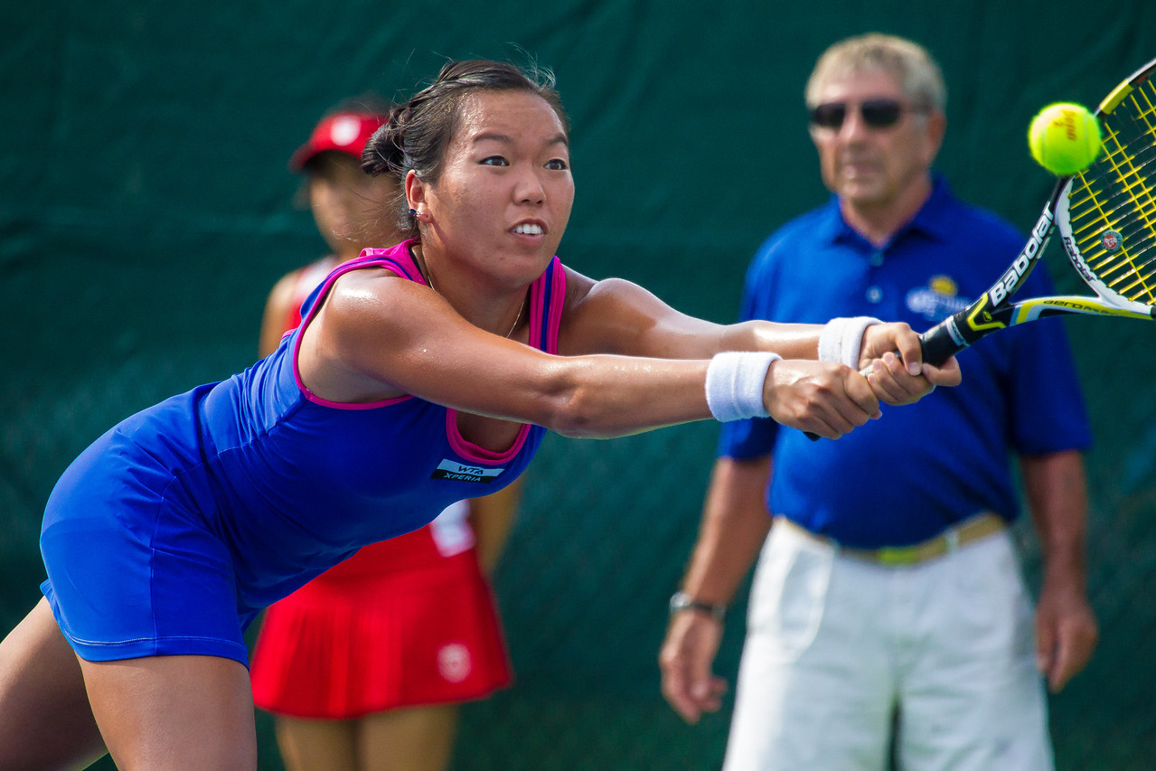 The Citi Open tennis tournament was held in the Rock Creek Park section of Washington, DC., from July 28 thru August 5, 2012 and included women participants for the first time.<br /> Taiwanese-American Vania King lost to top-seed Anastasia Pavlyuchenkova in a semi-final match.