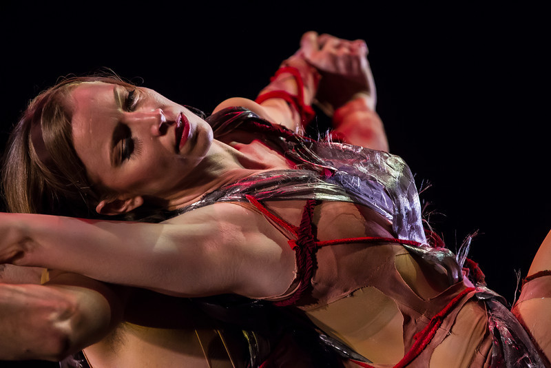"Bowen McCauley Dance performed the ambitious ""Le Sacre du Printemps"" (""Rite of Spring"") to glowing reviews on Thursday, March 1, 2012 at the Kennedy Center Terrace Theater. Dancer Michelle de Fremery in photo."