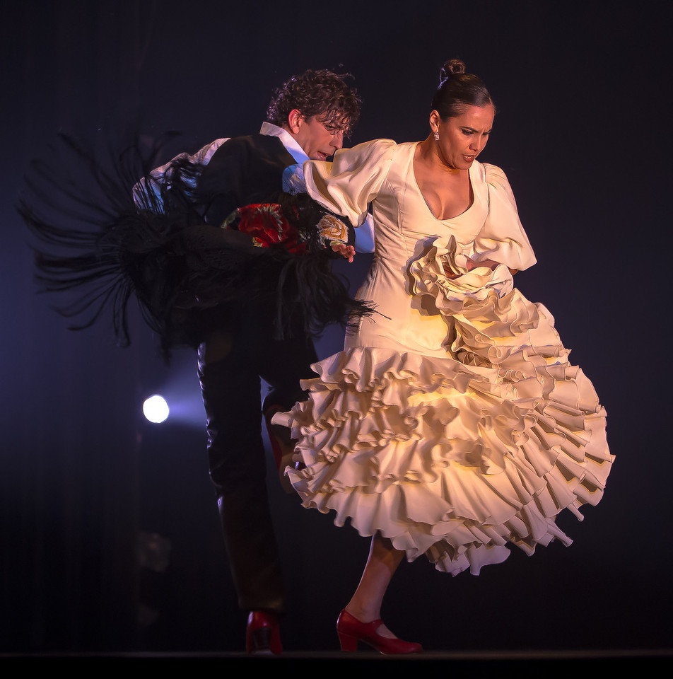 Flamenco is a unique art form that combines dancing, guitar playing, singing, and a stocatto handclapping. Seville's Rafaela Carrasco performed at GWU's Lisner Auditorium in Washinton DC on March 7 during Flemenco Festival 2012.