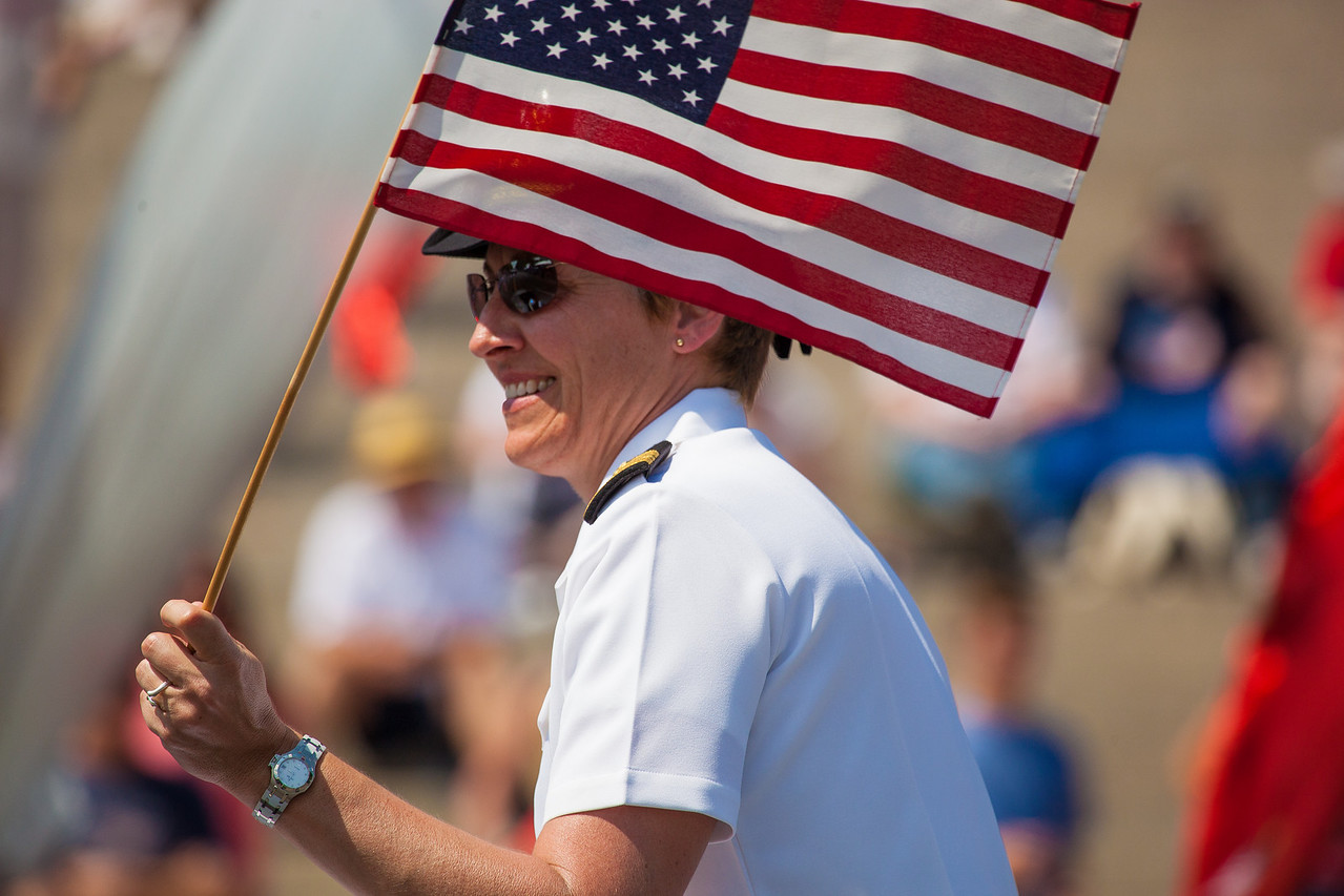 The Annual National Memorial Day Parade, took place along Constitution Avenue in Washington DC on May 28, 2012. Consisting of a lineup of entertainers, veterans units, marching bands and patriotic floats, the parade honors those who have served and died to protect our liberties.