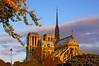 Notre Dame Cathedral, sunrise