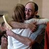 Economic profesor and honors advisor, Jeffrey Zax, hugs one of his students Annette Grinberg, who received her magna cum laude in economics.<br /> The University of Colorado College of  Arts and Sciences had its honors convocation on Friday at the Glenn Miller Ballroom.<br /> Cliff Grassmick / May 7, 2009