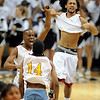 Jamil Cooks, left, and Chris Fielder celebrate their 4A State Championship win.<br /> Cliff Grassmick / March 14, 2009