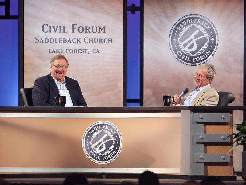 Civil Forum on Leadership George W Bush