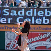 Kari Jobe at Saddleback's Easter Service at Anaheim Stadium