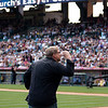 Rick Warren at Saddleback's Easter Service at Anaheim Stadium