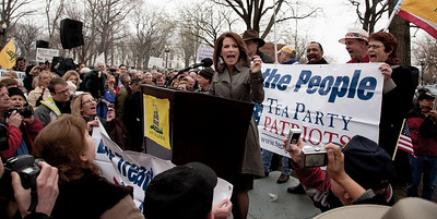 Michele Bachmann speaking at the Tea Party Patriots Continuing Revolution Rally (3/31/11)
