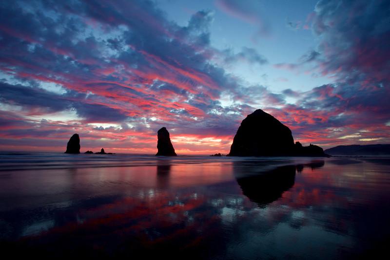 Haystack Rock, Cannon Beach, Oregon Coast