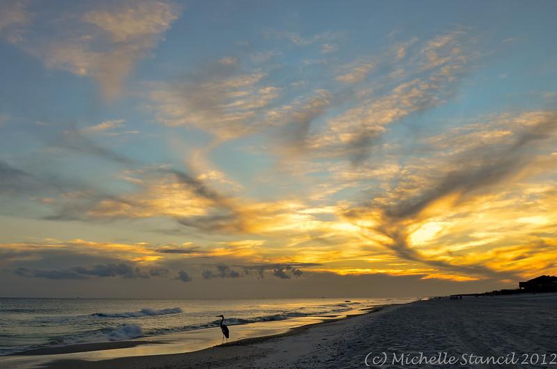 Megashot 2012-10-15 West Beach sunset-7178