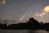 Comet Neowise over Sylvan Lake, South Dakota