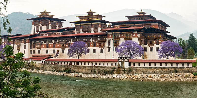 Bhu 0410 Punakha Dzong, Bhutan