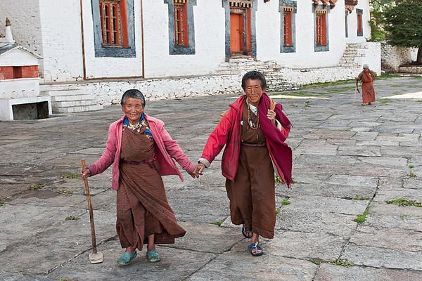 #Bhu 085 Friends, Bumthang, Bhutan