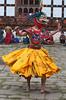 #Bhu 124 Dancer, Domkhar Tshechu Festival, Bhutan