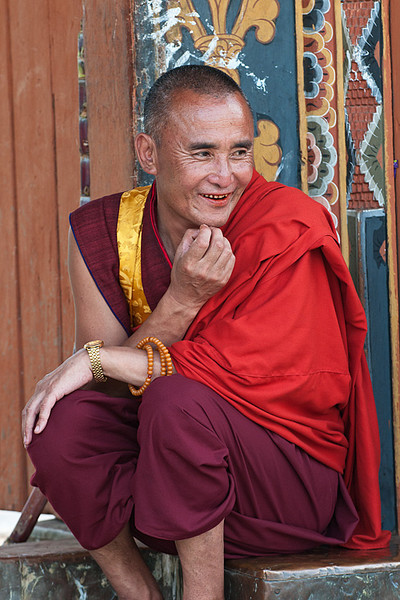 #Bhu 013 Life is Good, Punakha Dzong, Bhutan