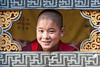 #Bhu 010 Young Monk, Paro Dzong, Bhutan