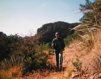 009a big bend, TX, , Boulder Meadow trail, chisos mts , apr 19, 1997aa-1