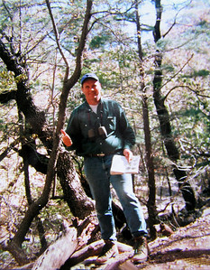 011 big bend, TX, Boot Springs,south rim trail, chisos mts, Colima Warbler found , apr 19, 1997-1