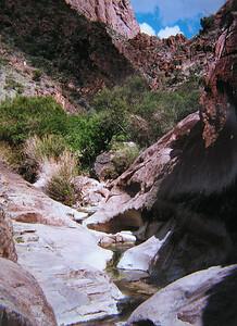 004 big bend, TX, trail to the window, apr 18, 1997c-1