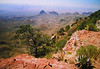 012 big bend, TX, ,south rim trail, chisos mts , apr 19, 1997a-1