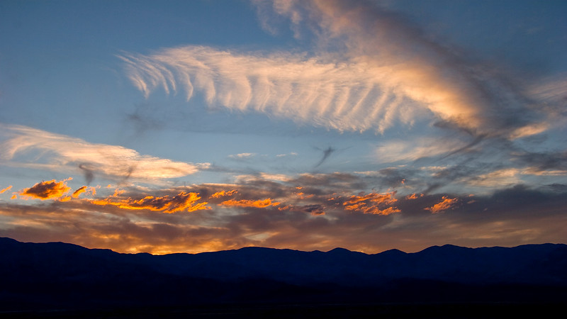 Death Valley National Park sunset , California