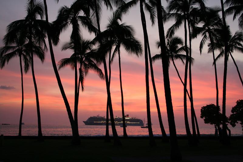 Kailua Town Sunset