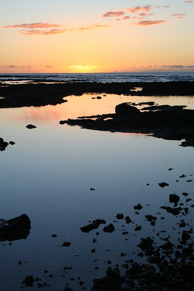 Big Island Sunset, Puako, Hawaii