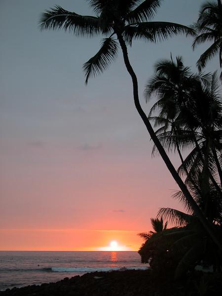 Kahalu'u Bay Sunset