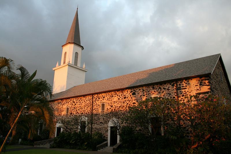Mokuaikaua Church, Kailua Kona<br /> Hawaii's Oldest Church