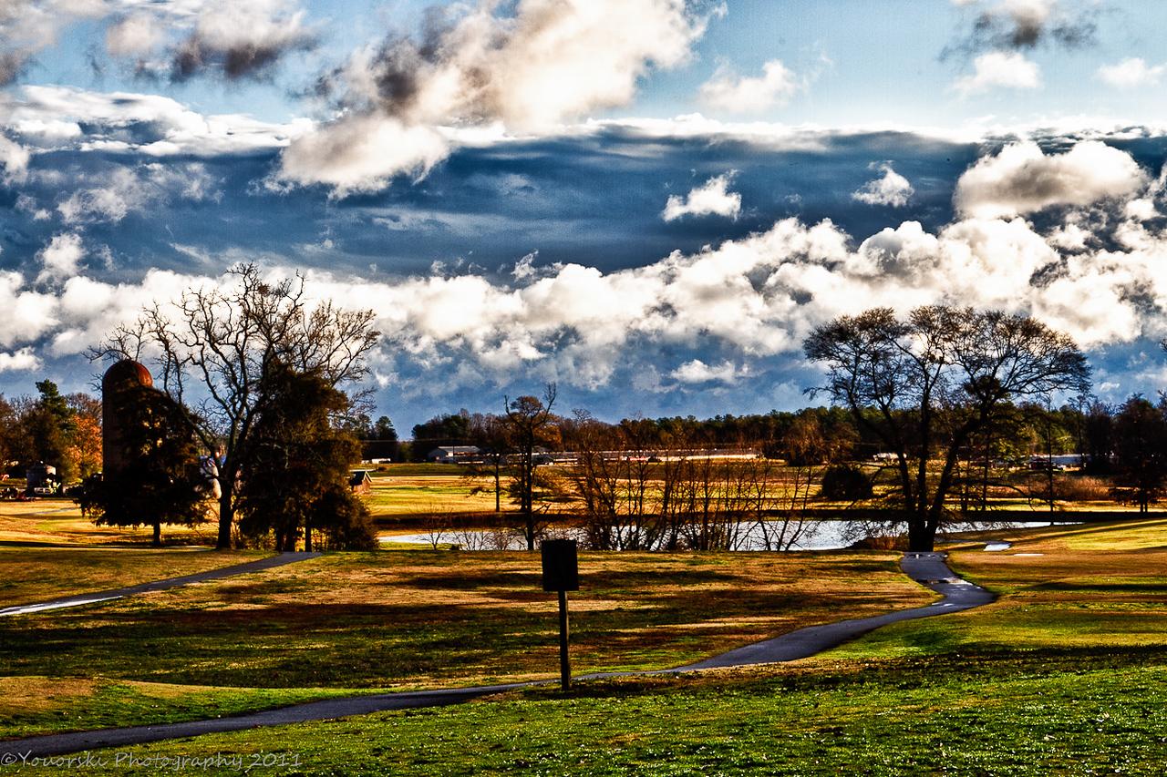 Golf paths