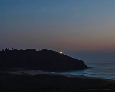 Big Sur Light Station at Night