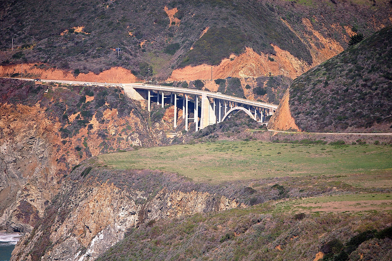 Bixby Bridge Big Sur Calif.