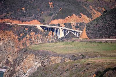 Bixby Bridge Big Sur Calif.