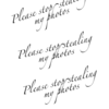 watermark 8x10