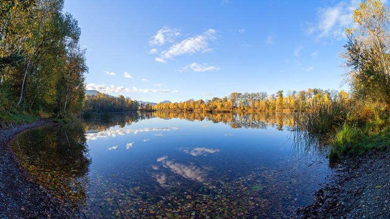 Alter Rhein im Herbst