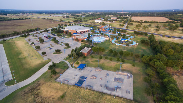 Denton Water Park and Natatorium with Skate Park