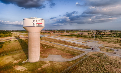 Water Tower at I35 and the Loop
